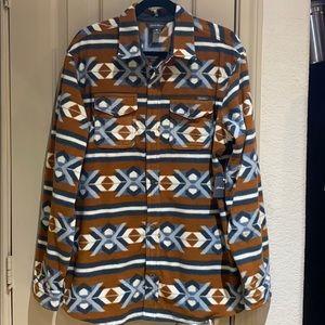Eddie Bauer micro fleece shirt.